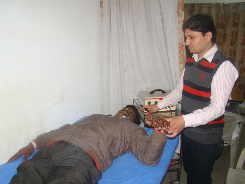 Mr. Vikas Kashyap, Physiotherapist