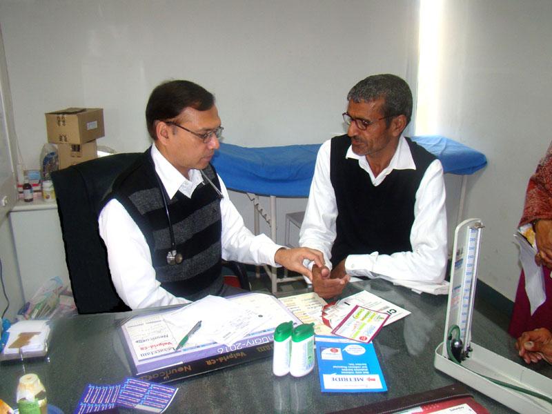 Dr. Singh in ICU
